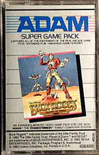 Buck Rogers - Super Game Pack - Adam